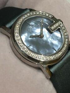 Gucci Ladies  101L Diamond Watch. New in Box. 100% Genuine