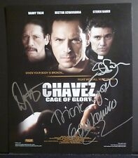"""CHAVEZ:CAGE OF GLORY Authentic Hand-Signed """"DANNY TREJO"""" 10x12 Photo EXACT PROOF"""