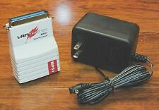 Lantronix (MPS1) Ethernet Micro Print Server Adapter with AC Power Supply *READ*