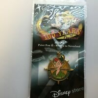 100 Years of Dreams #78 Peter Pan II - Return to Neverland 2002 Disney Pin 8349