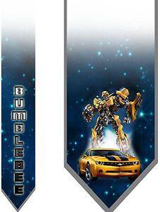 L@@K! Bumble Bee Transformers Neck Tie Autobot Decepticon