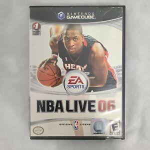 NBA Live 06 Nintendo GameCube 2005 E-Everyone Pre-Owned Tested/Working