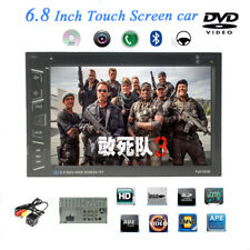 """6.2"""" 2 DIN Car Radio DVD/CD MP5 Player Bluetooth Stereo Touch Screen FM +Camera"""