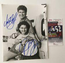 David Hasselhoff & Jeremy Jackson Signed Autographed 8x10 Photo JSA Baywatch