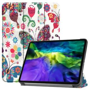 """For Apple iPad Pro 11"""" Inch Magnetic Smart Case Leather Stand Cover Butterflies"""
