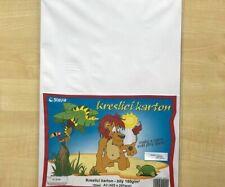 Dessin Carton Blanc A3 (10ks) 180g / M2 Papier Couleur Solide Scrapbooking
