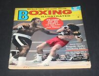 BOXING ILLUSTRATED APRIL 1972 JOE FRAZIER