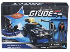 G.I. JOE 50th ANNIVERSARY DANGER AT THE DOCKS EXCLUSIVE SET FLINT VS COBRA EEL