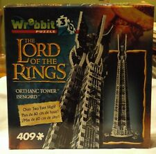 LOTR Wrebbit Orthanc Tower of Isengard 3d Puzzle 409 Pcs Hobbit Saruman