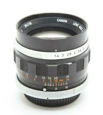 Canon FL 50mm f1.4 Manual Focus Lens #M1066