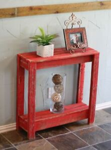 RED SMALL ENTRY CONSOLE