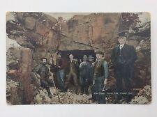 Vintage King Cobalt Silver Mine Ontario Written On Used Postcard E087