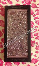 New Victoria's Secret for iPhone 6/S Case Pink Glitter Bling Mirror Card Holder