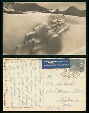 Mayfairstamps Switzerland 11950s Skiing Parsennabfahrt to US Real Photo Postcard
