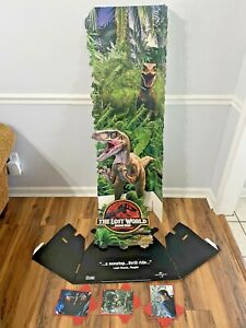 Jurassic Park The Lost World Promotional Left Standee from 1997