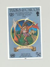 Turks & Caicos #674 Youth Year, UN, Grimm Fairy Tales 1v Imperf Proof