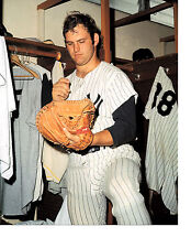 NEW YORK YANKEES THURMAN MUNSON  8X10 PHOTO BASEBALL