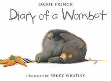Diary of a Wombat by Jackie French (Paperback, 2002)harper collins