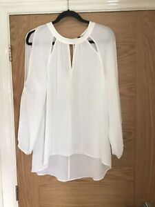 star by julien macdonald Top size 14 White New With Tags