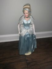 Disney Cinderella Franklin Heirloom Doll with Display Stand