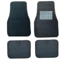 Honda Accord Civic HR-V FR-V City BLack CLoth Carpet Car Mats Anti Slip Heel Pad