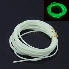 "146"" 1.2mm Diameter Silicone Light Luminous Glow Tubing Fishing Loop Wire Rope"