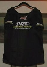 Inzer 2-Ply Rage X Bench Shirt 50 Open Back w/2 Straps & Custom Sleeves (Used)