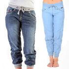 Ladies Lee Cooper Designer Jeans Denim Casual Fashion Trousers Pants Cuffed Slim