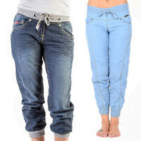 Ladies Lee Cooper Designer Jeans Denim Casual Fashion Trousers Pants Cuffed Slim