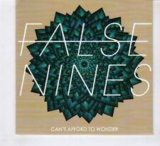 (HD58) False Nines, Can't Afford To Wonder - CD