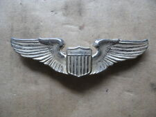 """U.S. Army Air Corps Pilot Wings WWII """"Sterling"""""""