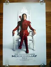 HUNGER GAMES Mocking Jay Pt. 2 Original 2010s Adv. Ver. B One Sheet Movie Poster