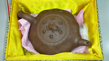 Vintage Chinese Yixing Teapot, Little Frog