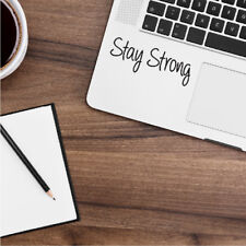"STAY STRONG Apple MacBook Decal Sticker fits 11"" 12"" 13"" 15"" and 17"" models"