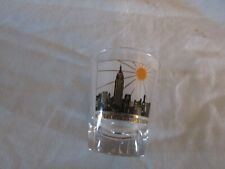 Vintage  Empire State Building-  Shot Glass- Never used