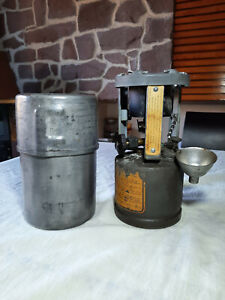 Réchaud de camping vintage camp stove campingkocher FRENCH MILITARY COLEMAN