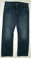 MENS LEVIS 514 SLIM / STRAIGHT BLUE JEANS SIZE 39 X 33 EUC Fade / Whiskers