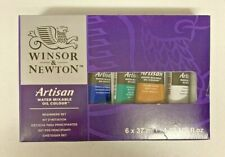 New listing Winsor & Newton Artisan Water Mixable Beginners Oil Color Set 6 ct Free Shipping