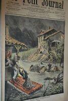 Supplément illustré Le Petit journal N°882 / 13-10-1907 / L'inondation
