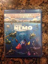 Finding Nemo 3D (Blu-ray+3D+DVD,+Digital Copy 3D/2D)NEW Authentic Disney Release