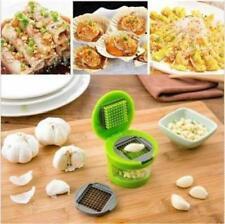 Garlic Press Chopper Slicer Hand Presser Grinder Crusher Twist Kitchen Storage G