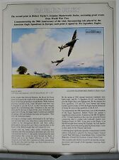 Eagles Prey Robert Taylor Original Single Page Advertising Flyer