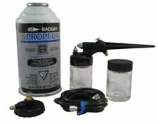 Basic Spray Gun Set with Propel, Jar, Regulator & Hose - Airbrushes - Badger