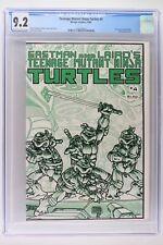 Teenage Mutant Ninja Turtles #4 - Mirage 1985 CGC 9.2 Pin-up by Jason Sklaver!