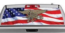 Truck Rear Window Decal Graphic [Military / U.S. Navy Seals] 20x65in DC09906