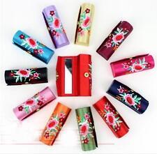 Wholesale 12pcs Chinese Handmade Classic Silk Lipstick Boxes&Jewelry&Gift Boxes