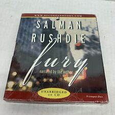 Salman Rushdie Fury Audio CD Narrated by the author New sealed