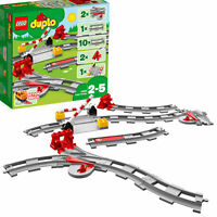 10882 LEGO Duplo Town Train Tracks 23 Pieces Age 2+