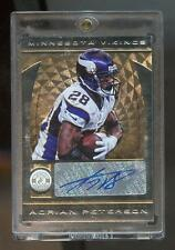 Adrian Peterson 2013 Panini Totally Certified AUTO #5/10 Vikings GOLD