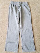 Nike Youth Girls Gray Drawstring Athletic Fleece Sweatpants Pants Bottoms XL